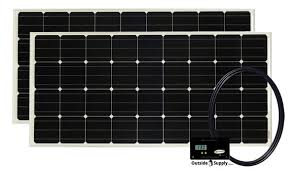 rv solar guide a typical rv solar kit consist of rv solar panels controller wire brackets