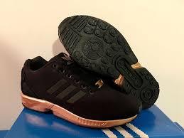 torsion zx flux. adidas zx flux core black copper torsion rose gold s78977 women\u0027s 7-10 limited torsion zx flux