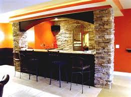 basement bar stone. Astonishing Basement Bar Ideas Stone With Cool Lighting Basement Bar Stone L