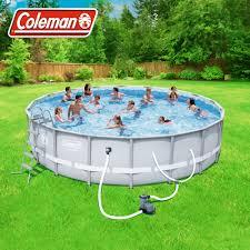 Coleman Power Steel 18' x 48
