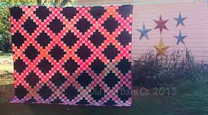 Old Red Barn Co.: A Double Irish Chain Quilt From Fat Quarters ... & A Double Irish Chain Quilt From Fat Quarters - Tutorial & Giveaway Adamdwight.com