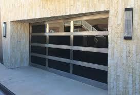 metal garage doorsPopular Modern Glass Garage Doors With Metal Glass Garage Doors