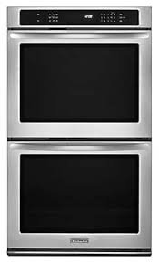 36 4 burner double ovens wall oven kebs209bss kitchenaid 30 inch convection double wall oven architect® series ii