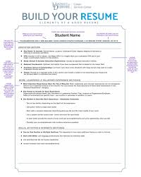 Resume Your Work Resume For Study