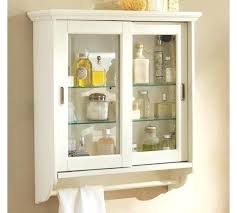 white bathroom hanging cabinet wall cabinet for bathroom two door wall cabinet with glass doors