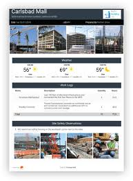 Construction Daily Reports Raken Field Reporting App