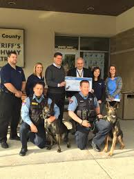 Aftermath Services Inc Awards 5000 K9 Grant To Lake County