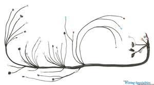 350z 2jzgte vvti swap wiring harness wiring specialties nissan 350z 2jzgte vvti wiring harness