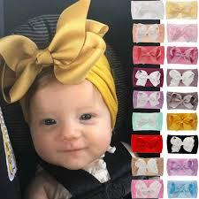 21 <b>Color</b> Available <b>Baby Headband</b> Girls Knot Baby Hair ...