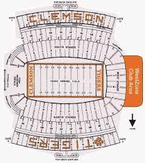 Clemson Tigers Stadium Seating Chart Clemson Tigers 2018 Football Schedule