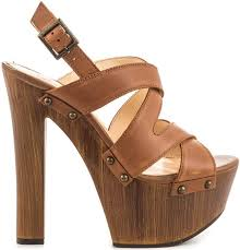 jessica simpson damelo platform sandal brown leather
