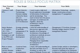 Enterprise Architecture Skills