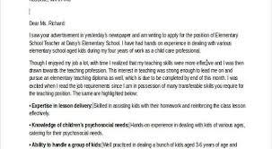 Cover Letter Template Career Change Resume Format