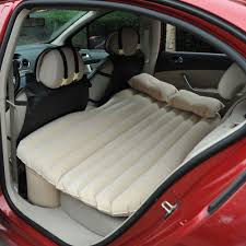 Backseat Inflatable Bed Outsunny Car Travel Inflatable Mattress Vehicle Back Seat Bed