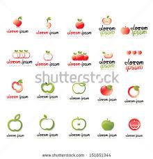 apple logo white vector. apple icons set - isolated on white background vector illustration, graphic design editable for logo