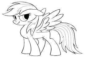 my little pony rainbow dash coloring page pages free equestria girl