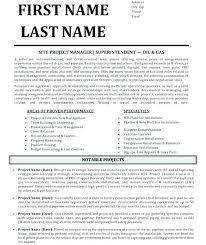 Construction Superintendent Resume Templates Construction Superintendent Resume Templates Construction