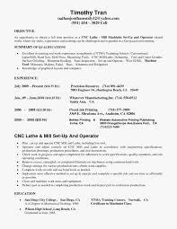 Sample Machinist Resume Free Sample Cnc Machinist Resume Samples