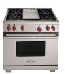 wolf 36 inch single oven dual fuel range stainless steel fueldf364g wolf dual fuel range e62