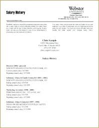 How To Put Salary Requirements On Cover Letter Resume With Salary Requirements Englishor Com