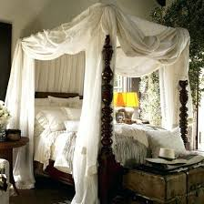Drapes For Canopy Bed Canopy Bed With Curtains Four Poster Bed Drape ...