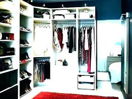 build your own walk in closet shelves custom how