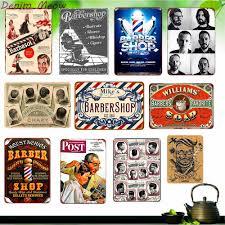 Hairdresser Hair Styling Vintage Posters Kraft Paper Barber