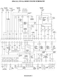 repair guides wiring diagrams wiring diagrams autozone com 5 1996 2 2l vin 4 engine schematic