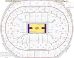 Staples Center Premier Seating Chart Staples Center Seat Numbers Detailed Seating Chart La