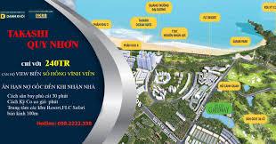 Dự án Takashi Quy Nhơn, căn hộ veiw biển, sổ đỏ vĩnh viễn tại Nhơn Hội...