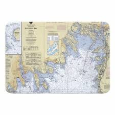 Nautical Chart Buzzards Bay Ma Details About Breakwater Bay Hofmann Buzzards Bay Ma Nautical Chart Memory Foam Bath Rug