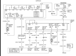 need wire schematic for chevy drivers door power window switch graphic