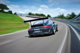 Porsche Cup Race Car In Action Rear Eurocar News