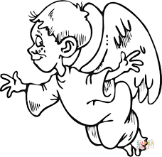 20 Boy Angel Coloring Pages Printable Ideas And Designs