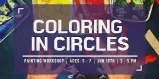 coloring in circles garden city arts