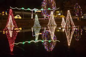 Salem Pond Lights Salem Continues Traditional Christmas Display Around Pond