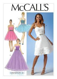 Prom Dress Sewing Patterns Enchanting M48 Misses' Sweetheart Dresses Sewing Pattern McCall's Patterns