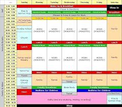 Calendar Blocking Template Time Block Schedule Template Naomijorge Co