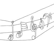 34 Dessins De Coloriage Musique Imprimer Throughout Note De