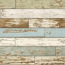 Wood - Wallpaper - Home Decor - The Home Depot