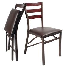pk 2 folding dining chairs