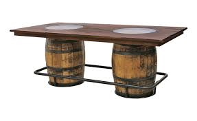 reversible reclaimed wine barrel. Whiskey Double Barrel Table Dutch Craft Furniture Intended For Idea 1 Reversible Reclaimed Wine