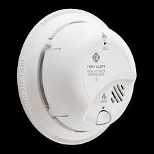 sc9120b hardwired smoke and carbon monoxide alarm with battery backup side angle