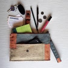 Liz Jordan Designer Pretty Pouch Handcrafted Clutch
