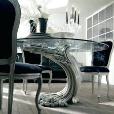pedestal for glass table excellent antique finish silver pedestal round glass dining table in pedestal for