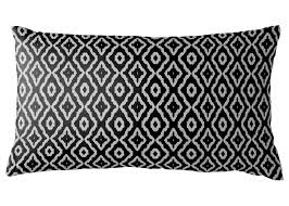 black and white lumbar pillow. Beautiful Pillow AphroChic  Haze Petite Lumbar Pillow In Black U0026 White In And