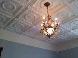How To Install Decorative Ceiling Tiles Faux Tin Ceiling Tile Easy Drop In Or Glue Up Install Colors 2