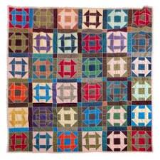 fantastic 1940 s amish hole in the barn door pattern quilt