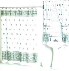 tie back shower curtains with valance kinanmloungecom shower curtains with valance and tiebacks shower curtains with