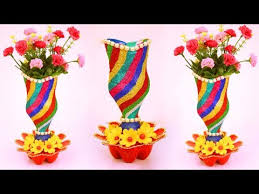 how to transform plastic bottle into luxurious flower vase plastic bottle flower vase idea at home best out 130 jhumar chandelier hanging balbur